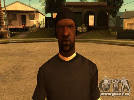 Beta Sweet skin für GTA San Andreas fünften Screenshot