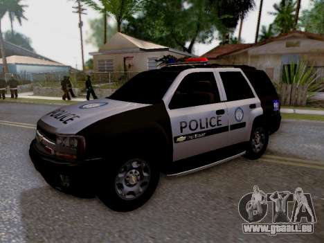 Chevrolet TrailBlazer Police pour GTA San Andreas vue de côté