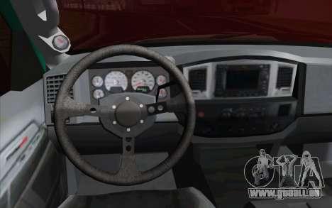 Dodge Ram SRT10 Shark pour GTA San Andreas vue de droite