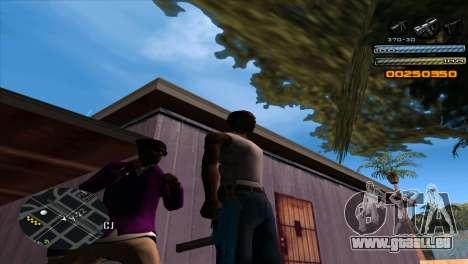 C-HUD Light pour GTA San Andreas deuxième écran