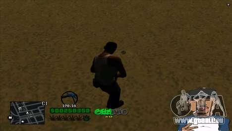 C-HUD By Markus pour GTA San Andreas deuxième écran