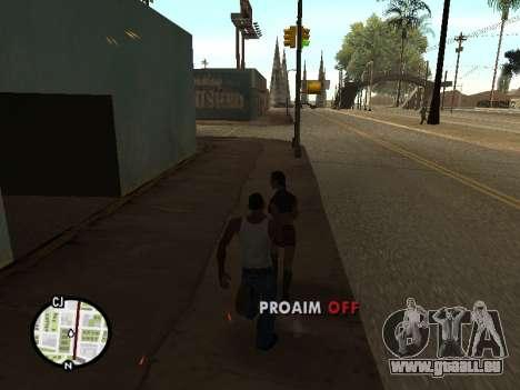 ProAim pour GTA San Andreas quatrième écran