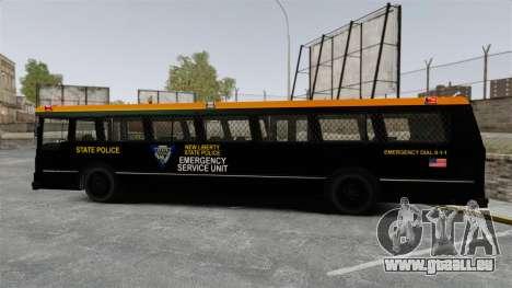 Brute Bus ESU [ELS] pour GTA 4 est une gauche