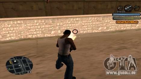 C-HUD Light pour GTA San Andreas quatrième écran