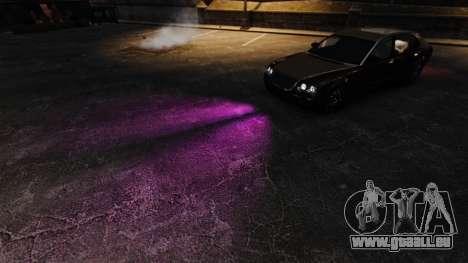 La lumière rose pour GTA 4