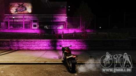 La lumière rose pour GTA 4 secondes d'écran