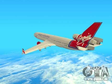 McDonnell Douglas MD-11 pour GTA San Andreas vue de droite
