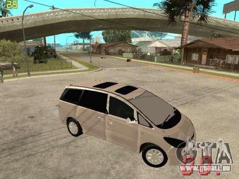 Toyota Estima KZ Edition 4wd pour GTA San Andreas vue de droite