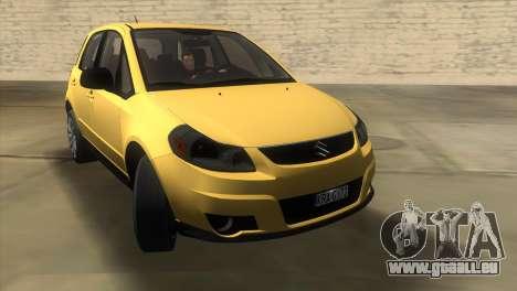 Suzuki SX4 Sportback für GTA Vice City rechten Ansicht