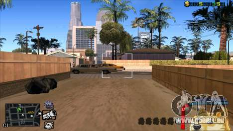 C-HUD Hund WOW für GTA San Andreas fünften Screenshot