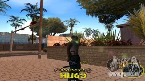 C-HUD Vagos by Hugo für GTA San Andreas