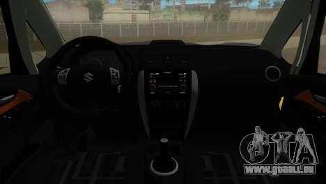 Suzuki SX4 Sportback pour une vue GTA Vice City de la gauche