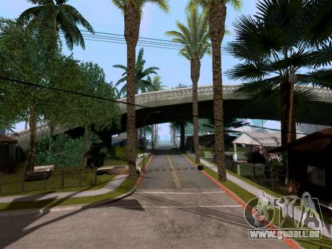 New Grove Street v3.0 für GTA San Andreas zweiten Screenshot