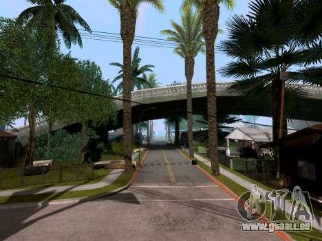 New Grove Street v3.0 pour GTA San Andreas deuxième écran