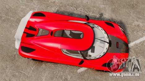 Koenigsegg Agera R [EPM] NFS pour GTA 4 est un droit