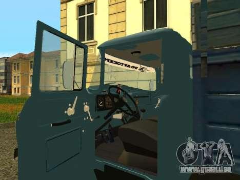 ZIL 130 pour GTA San Andreas vue arrière