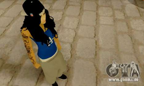 Ophelia v2 pour GTA San Andreas troisième écran