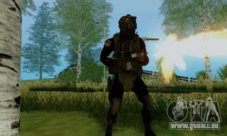 Kopassus Skin 2 pour GTA San Andreas cinquième écran