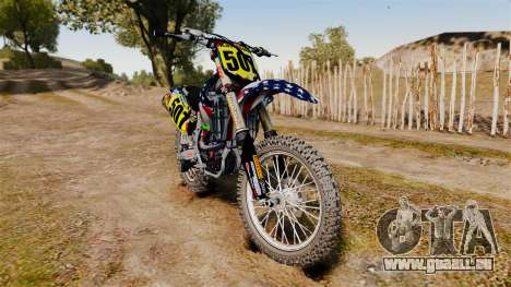 Kawasaki KX250F Monster KX USA pour GTA 4