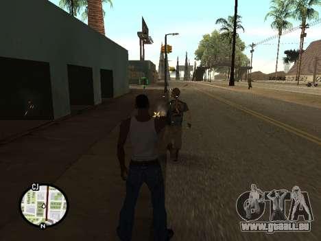 ProAim pour GTA San Andreas troisième écran