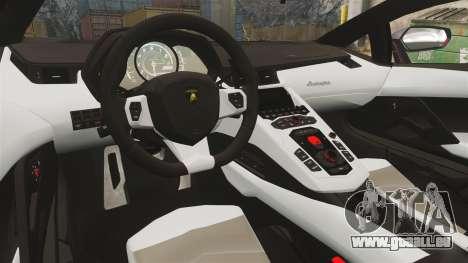 Lamborghini Aventador LP700-4 2012 [EPM] Jake für GTA 4 Innenansicht