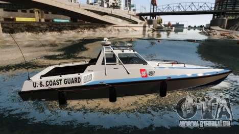 Predator U.S. Coast Guard für GTA 4 linke Ansicht