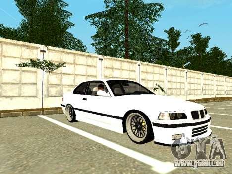 BMW M3 E36 Coupe pour GTA San Andreas laissé vue