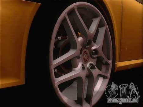 Porsche 911 Targa 4S für GTA San Andreas Rückansicht