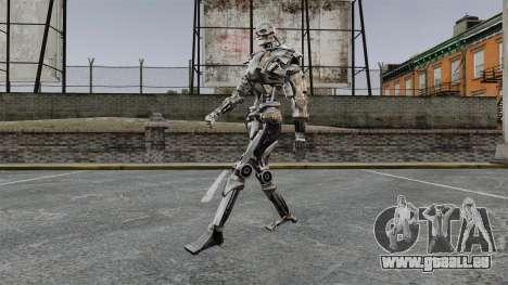Terminator T-800 pour GTA 4 troisième écran
