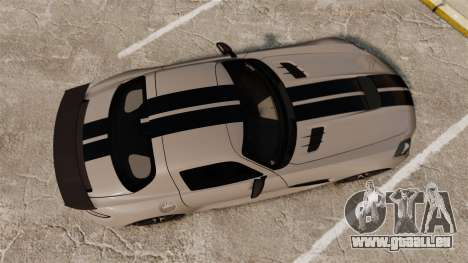 Mercedes-Benz SLS 2014 AMG NFS Stripes pour GTA 4 est un droit