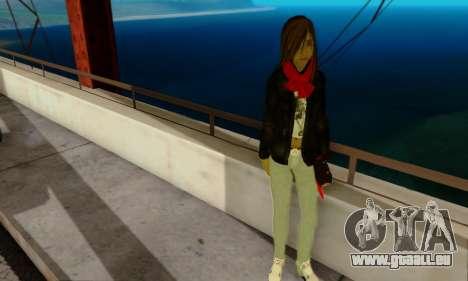 Kim Kameron pour GTA San Andreas troisième écran