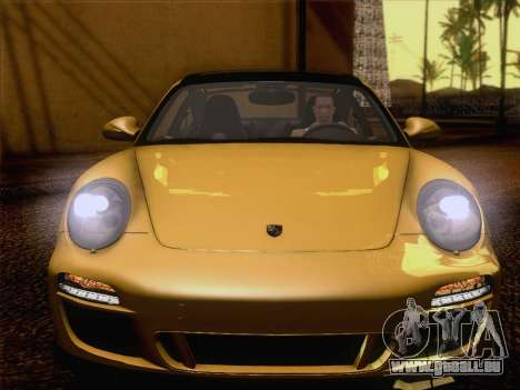 Porsche 911 Targa 4S für GTA San Andreas Innenansicht