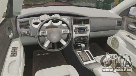 Dodge Charger SRT8 2007 pour GTA 4 Vue arrière