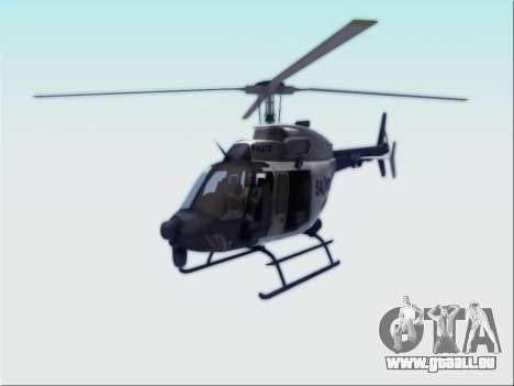 Bell 407 SAPD für GTA San Andreas