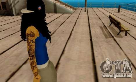 Ophelia v2 pour GTA San Andreas cinquième écran