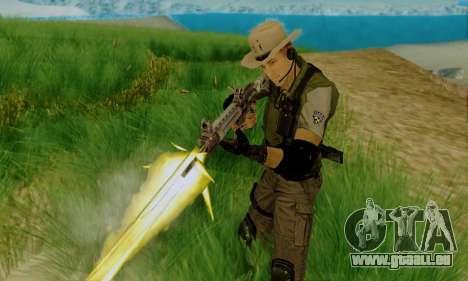 Resident Evil Apocalypse S.T.A.R.S. Sniper Skin pour GTA San Andreas