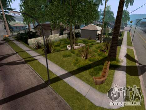 New Grove Street v3.0 für GTA San Andreas her Screenshot