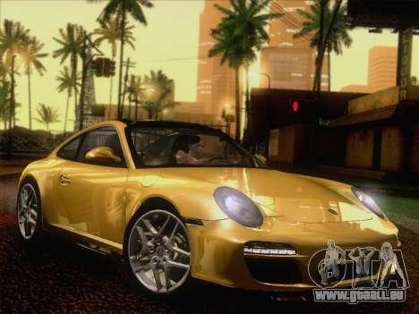 Porsche 911 Targa 4S für GTA San Andreas zurück linke Ansicht