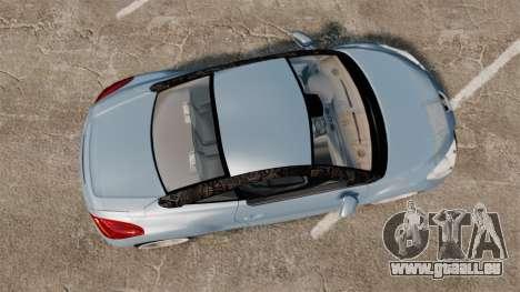 Peugeot RCZ pour GTA 4 est un droit
