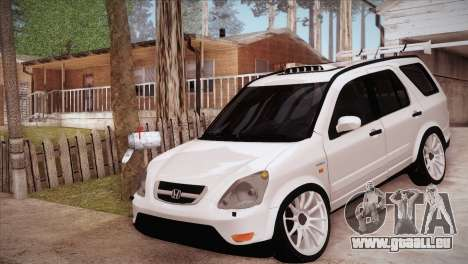 Honda CR-V Hellaflush pour GTA San Andreas