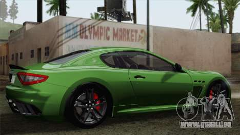 Maserati GranTurismo MC Stradale pour GTA San Andreas vue de côté