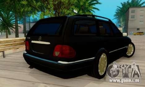 Mercedes-Benz E320 Wagon für GTA San Andreas zurück linke Ansicht
