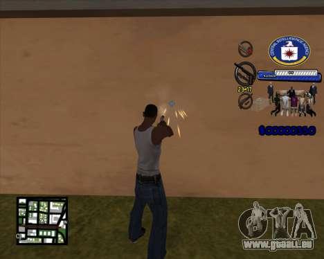 C-HUD C.I.A pour GTA San Andreas deuxième écran