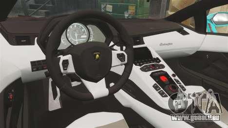 Lamborghini Aventador LP700-4 2012 [EPM] Miku für GTA 4 Seitenansicht