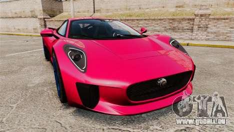 Jaguar C-X75 [EPM] pour GTA 4