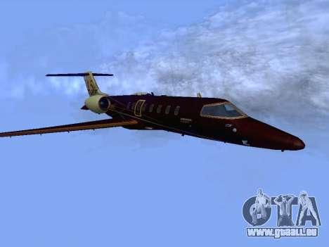 Bombardier Learjet 45 für GTA San Andreas