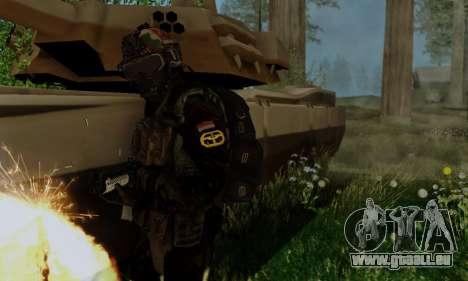Kopassus Skin 2 pour GTA San Andreas quatrième écran
