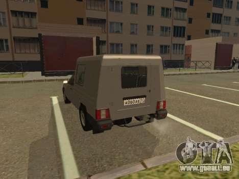 IZH 2717-90 pour GTA San Andreas vue de droite