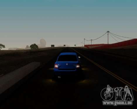 Skoda Octavia A7 pour GTA San Andreas salon