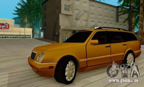 Mercedes-Benz E320 Wagon für GTA San Andreas Rückansicht